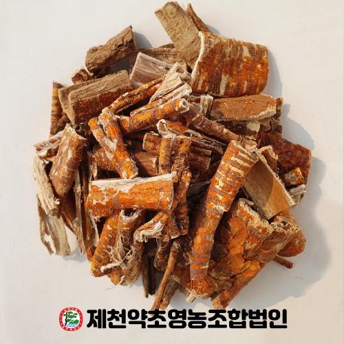국산 상백피 뽕나무뿌리 속껍질 500g