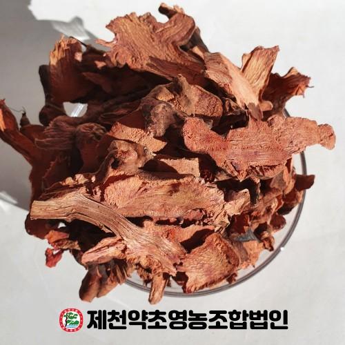 국산 토복령 망개나무 뿌리 500g